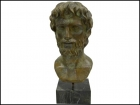 ARISTOTLES BRONZE BUST