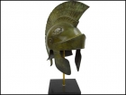 ATHENIAN BRONZE HELMET WITH CREST