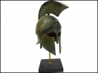 CORINTHIAN BRONZE HELMET WITH CREST