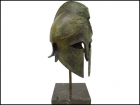 CORINTHIAN BRONZE HELMET WITH RAM