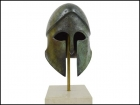 CORINTHIAN HELMET IN MARBLE BASE