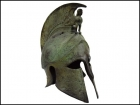 CORINTHIAN HELMET WITH SPHINX