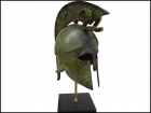 CORINTHIAN HELMET WITH DOUBLE SNAKES