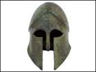 CORINTHIAN NATURAL HELMET WITH OWLS