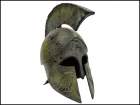 CORINTHIAN HELMET WITH OWLS