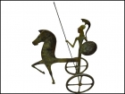 GODDESS ATHENA RIDING CHARIOT