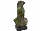 KING LEONIDAS BRONZE BUST