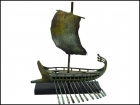 SMALL BRONZE BOAT